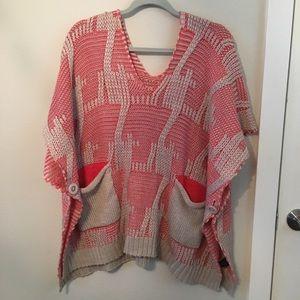 Vertigo Sweater Poncho size S/M